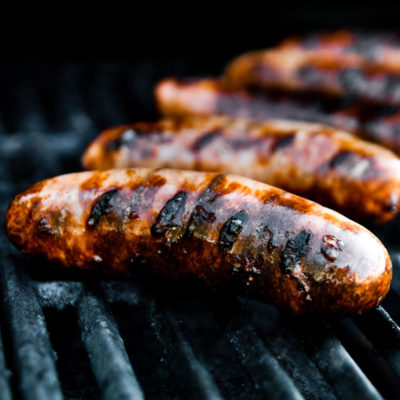 grilled-sausages