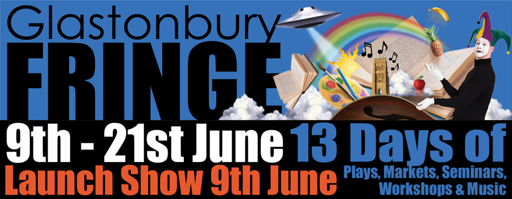 Supporting Glastonbury Fringe again in 2017